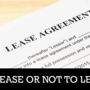 condominium leasing agreement